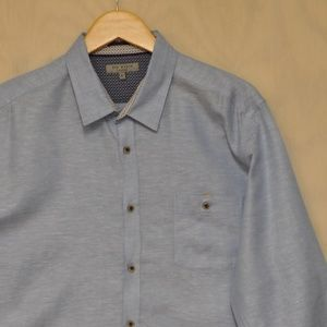 Ted Baker London Button Down 6 XXL